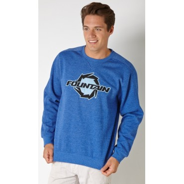 Fountain Jersey Applique Sweatshirt