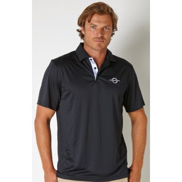 Fountain Men's Black Limited Edition Polo