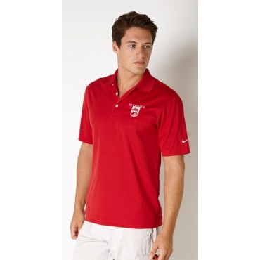 Donzi Nike Drifit Polo in Red