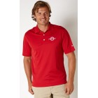 Fountain Nike Drifit Polo in Red