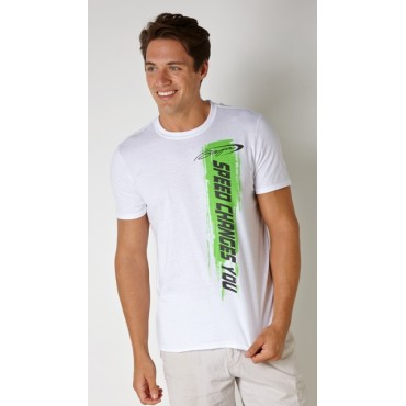 Baja Green Speed Paint T-Shirt