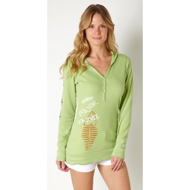 Baja Ladies Thermal Hoodie