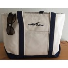 Proline Navy/Natural Tote Bag