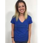 Ladies Royal Blue Fountain T-Shirt