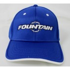 Fountain Royal Blue Flex Fit Hat w/ White Logo